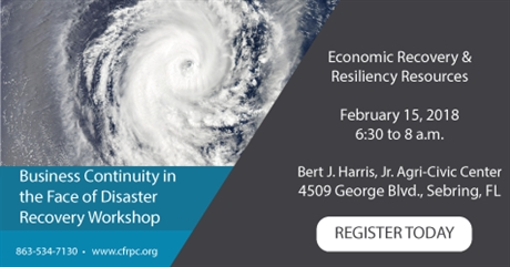 Economic Recovery & Resiliency Resources Workshop Feb. 15