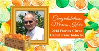 Sebring Citrus Grower Tapped for the FL Citrus Hall of Fame
