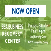 US SBA Business Recovery Center Now Open in Highlands County