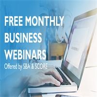 SBA Monthly Webinars